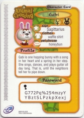 Animal Crossing-e 4-215 (Gabi - Back).jpg