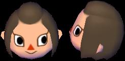 Tremendous Hairstyle Nookipedia The Animal Crossing Wiki Short Hairstyles Gunalazisus