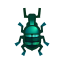 Blue Weevil Beetle NH Icon.png