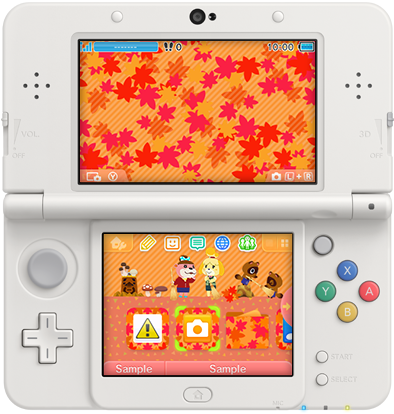 3DS Theme - Animal Crossing New Leaf - Fall Leaves.png