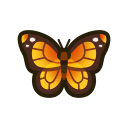 Monarch Butterfly NH Icon.png