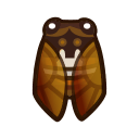 Brown Cicada NH Icon.png