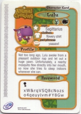 Animal Crossing-e 3-173 (Lulu - Back).jpg