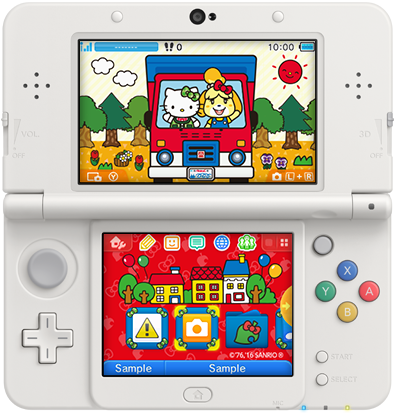 3DS Theme - Hello Kitty and Isabelle.png