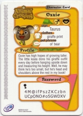 Animal Crossing-e 4-237 (Ozzie - Back).jpg