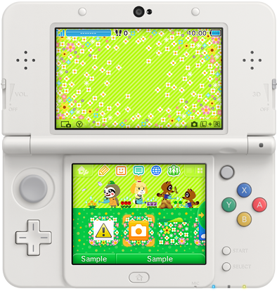 3DS Theme - Animal Crossing New Leaf - Gardening Weather.png