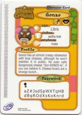 Animal Crossing-e 3-192 (Gonzo - Back).jpg