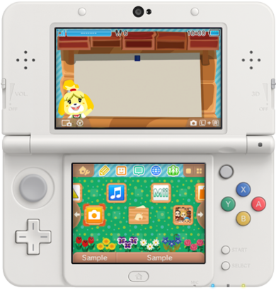3DS Theme - Animal Crossing New Leaf - Bulletin Board.png