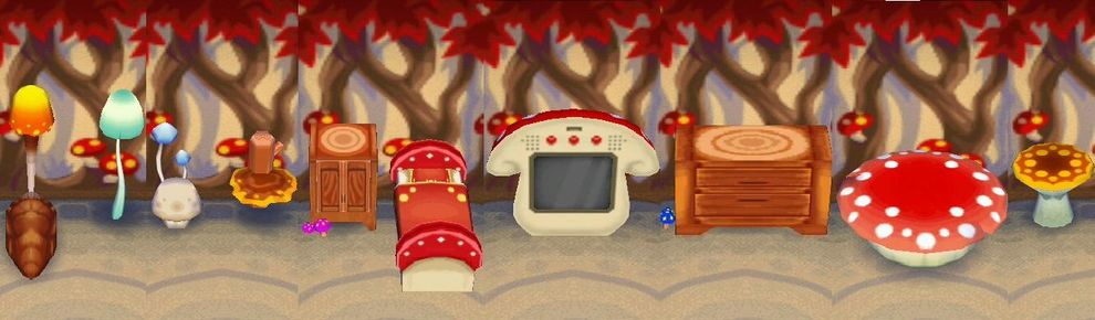 Mushroom Series Nookipedia The Animal Crossing Wiki