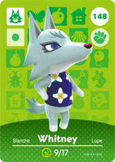 Whitney Nookipedia The Animal Crossing Wiki