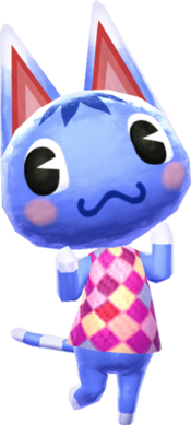 Animal Crossing New Leaf Villagers Cat