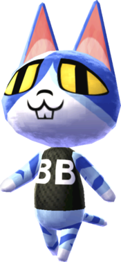 Animal Crossing Punchy The Cat