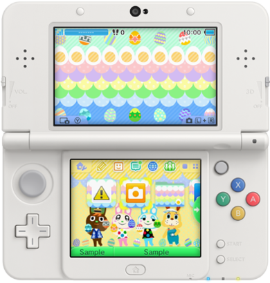 3DS Theme - Animal Crossing New Leaf - Bunny Day.png