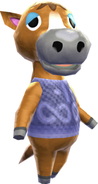 Horse Nookipedia The Animal Crossing Wiki