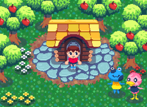 Fanart - Pixel Animal Crossing by JosiahSMoore.png